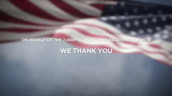 Folds of Honor Foundation TV Spot, 'Chicagoland Speedway NASCAR Event' - Thumbnail 8
