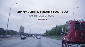 Folds of Honor Foundation TV Spot, 'Chicagoland Speedway NASCAR Event' - Thumbnail 2