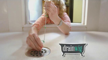 Drain Wig TV Spot, 'Clears Your Drains for You' - 1273 commercial airings