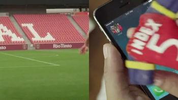 Topps Kick App TV Spot, 'Finger Jersey' Featuring Kyle Beckerman - Thumbnail 5