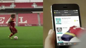 Topps Kick App TV Spot, 'Finger Jersey' Featuring Kyle Beckerman - Thumbnail 6