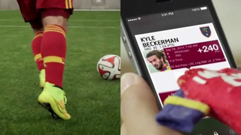 Topps Kick App TV Spot, 'Finger Jersey' Featuring Kyle Beckerman - Thumbnail 8