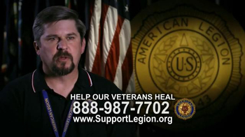 The American Legion TV Spot, 'Help Veterans Heal' - Thumbnail 7