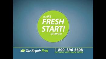Tax Repair Pros TV Spot, 'Time for a Fresh Start' - Thumbnail 3