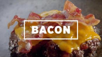 Applebee's Triple Bacon Burger TV Spot, 'Bacon, Bacon, Bacon & Free Fries' - 1094 commercial airings