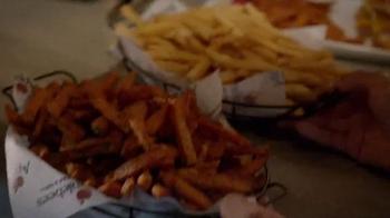 Applebee's Triple Bacon Burger TV Spot, 'Bacon, Bacon, Bacon & Free Fries' - Thumbnail 6