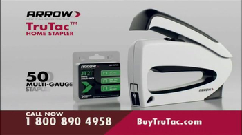 Arrow Fastener Tru Tac TV Spot - Thumbnail 8
