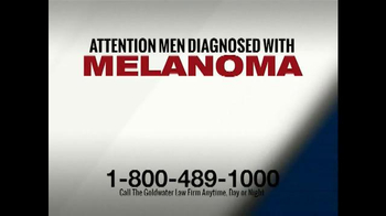 Goldwater Law Firm TV Spot, 'Men Diagnosed with Melanoma' - Thumbnail 1