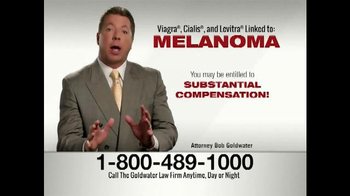 Goldwater Law Firm TV Spot, 'Men Diagnosed with Melanoma' - Thumbnail 7