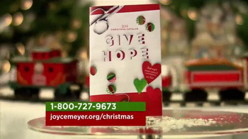 Joyce Meyer Hand of Hope Catalogue TV Spot, 'Christmas'