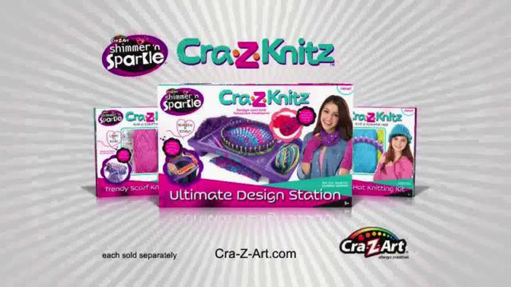 Cra Z Knitz Tv Commercial Knitting Easy And Fun With Two