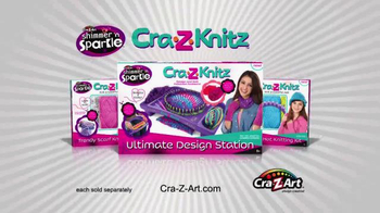Cra-Z-Knitz TV Spot, 'Knitting Easy and Fun with Two Looms in One - Thumbnail 10