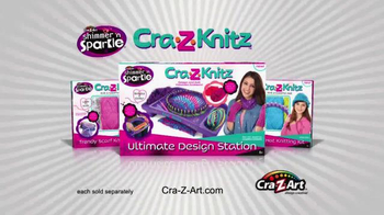 Cra-Z-Knitz TV Spot, 'Knitting Easy and Fun with Two Looms in One - Thumbnail 9