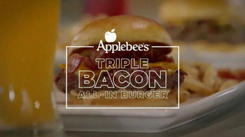 Applebee's Triple Bacon All-In Burger TV Spot, 'Revolutionary' - Thumbnail 3