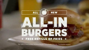 Applebee's Triple Bacon All-In Burger TV Spot, 'Revolutionary' - Thumbnail 7