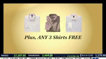 JoS. A. Bank TV Spot, 'Three Free Shirts' - Thumbnail 3