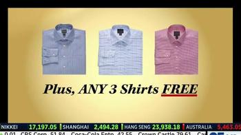 JoS. A. Bank TV Spot, 'Three Free Shirts' - Thumbnail 4