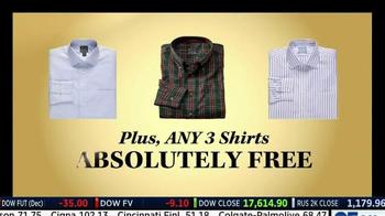JoS. A. Bank TV Spot, 'Three Free Shirts' - Thumbnail 9