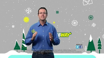 Subway $2 Holiday Customer Appreciation Month TV Spot Featuring Jared Fogle - Thumbnail 9