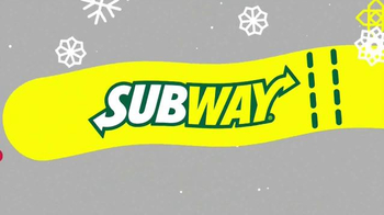 Subway $2 Holiday Customer Appreciation Month TV Spot Featuring Jared Fogle - Thumbnail 2