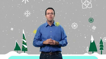 Subway $2 Holiday Customer Appreciation Month TV Spot Featuring Jared Fogle - Thumbnail 3