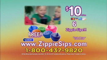 Zippie Sips TV Spot, 'Never Spill Again'