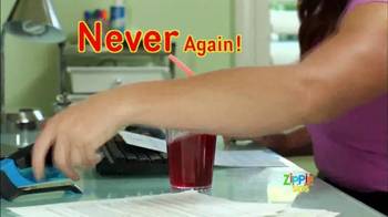 Zippie Sips TV Spot, 'Never Spill Again' - Thumbnail 6