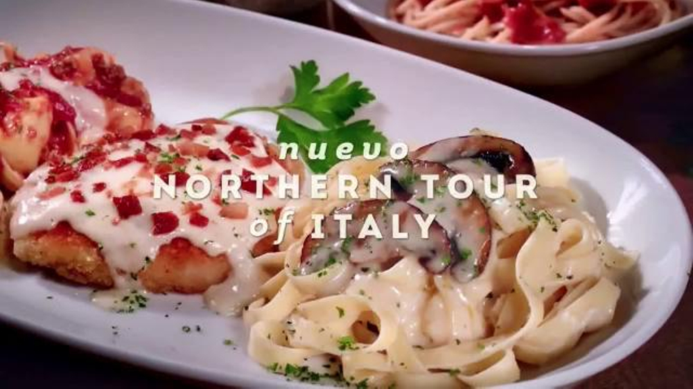 Olive Garden Northern Tour Of Italy Tv Commercial 39 Delicioso Sabor 39
