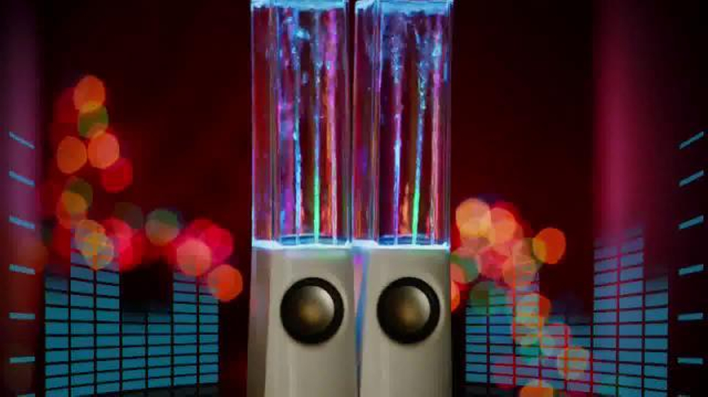 Crazy Lights Magic Water Speaker Tv Commercial Move To