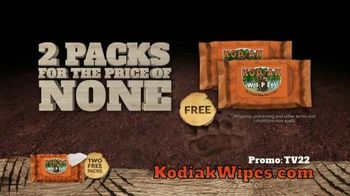 Kodiak Wipes TV Spot, 'Hunting Times' - Thumbnail 10