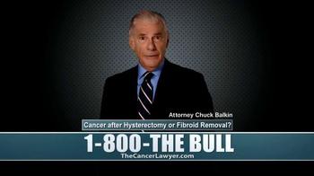 The Balkin Law Group TV Spot, 'Cancer' - Thumbnail 9
