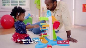 Fisher Price Roller Blocks Playwall TV Spot [Spanish] - Thumbnail 7