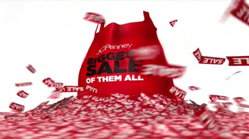 JCPenney Biggest Sale of Them All TV Spot, 'Entire Store' - Thumbnail 2