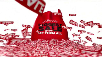 JCPenney Biggest Sale of Them All TV Spot, 'Entire Store' - Thumbnail 9