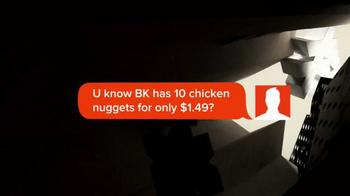 Burger King Nuggets TV Spot, 'Texting' - Thumbnail 2