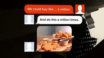 Burger King Nuggets TV Spot, 'Texting' - Thumbnail 7