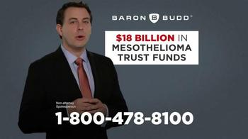 Baron & Budd, P.C. TV Spot, '$18 Billion Set Aside' - Thumbnail 3