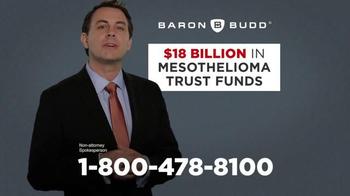Baron & Budd, P.C. TV Spot, '$18 Billion Set Aside' - Thumbnail 5