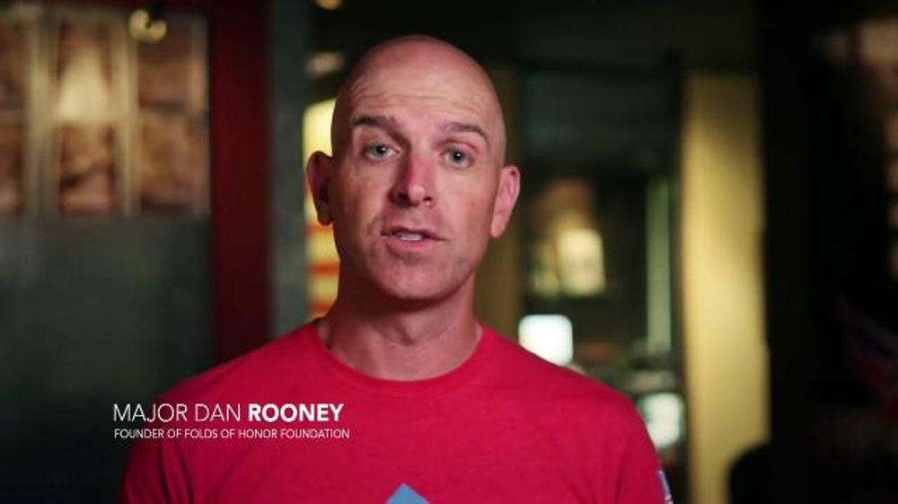Folds of Honor Foundation TV Commercial, 'I Stand' Featuring Corey Pavin