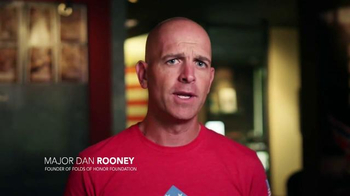 Folds of Honor Foundation TV Spot, 'I Stand' Featuring Corey Pavin - Thumbnail 8