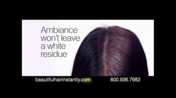 Ambiance Dry Shampoo TV Spot, 'Beautiful Hair Anytime, Anywhere' - Thumbnail 6