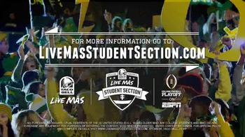 Taco Bell Live Más Student Section TV Spot, 'The Biggest Fans' - Thumbnail 10