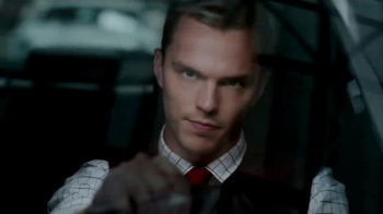2015 Jaguar XF TV Spot, 'British Intel' Featuring Nicholas Hoult