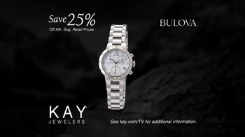 Kay Jewelers Diamonds in Rhythm TV Spot, 'Penguin Kiss: Save 25 Percent on Bulova Watches' - Thumbnail 9