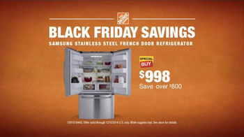 The Home Depot TV Spot, 'Black Friday Savings' - Thumbnail 10