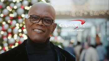 Capital One Quicksilver TV Spot, 'Holiday Spirit' Feat. Samuel L. Jackson - Thumbnail 10