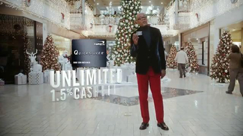 Capital One Quicksilver TV Spot, 'Holiday Spirit' Feat. Samuel L. Jackson - 4209 commercial airings