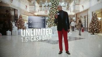 Capital One Quicksilver TV Spot, 'Holiday Spirit' Feat. Samuel L. Jackson - Thumbnail 9