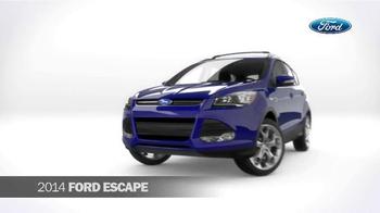 2014 Ford Escape TV Spot, 'Compare' - Thumbnail 2