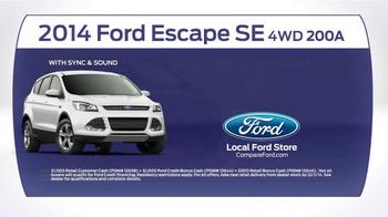 2014 Ford Escape TV Spot, 'Compare' - Thumbnail 7